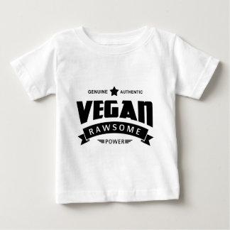 Poder de Rawsome del vegano Remera