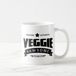 Poder de Rawsome del Veggie Taza De Café