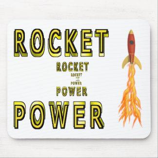 Poder de Rocket Mousepads