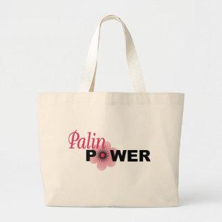 Poder de Sarah Palin Bolsa De Tela Grande