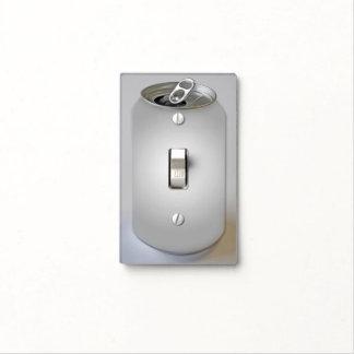 Poder de soda de aluminio tapa para interruptor