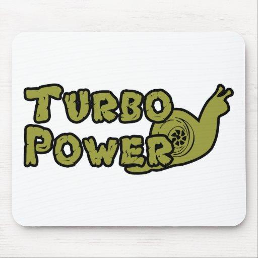 Poder de Turbo Tapetes De Ratones