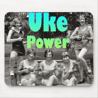 Poder de Uke Alfombrilla De Ratones