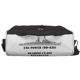 Poder de USS (DD-839) Bolsas De Ordenador