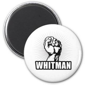 PODER DE WHITMAN IMÁN REDONDO 5 CM
