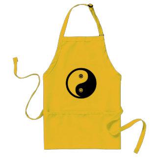Poder de Yin Yang Delantal