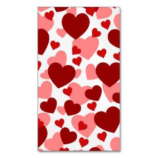 PODER DEL AMOR (diseño) de los corazones ~.png Tarjetas De Visita Magnéticas (paquete De 25)