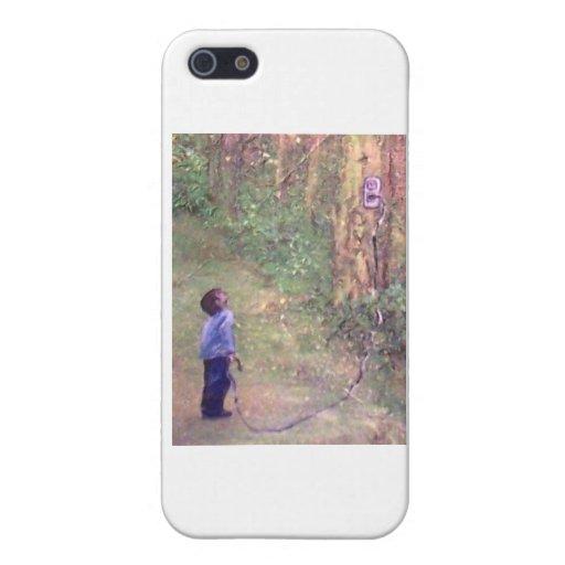 Poder del árbol iPhone 5 carcasas
