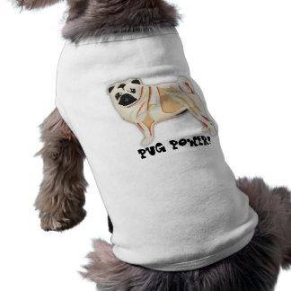 ¡PODER DEL BARRO AMASADO! Camiseta del perro Playera Sin Mangas Para Perro