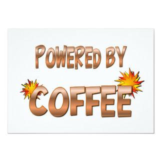 Poder del café anuncio personalizado