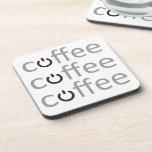 Poder del café posavasos de bebidas