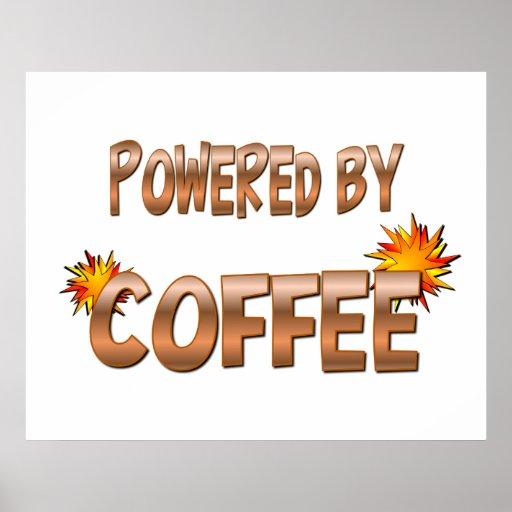 Poder del café póster