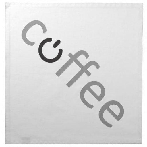 Poder del café servilletas de papel