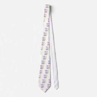 Poder del chica corbata personalizada