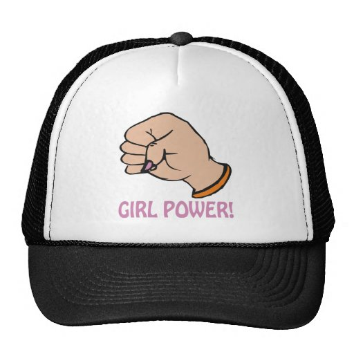 Poder del chica gorro de camionero
