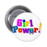 Poder del chica pin
