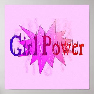 Poder del chica póster