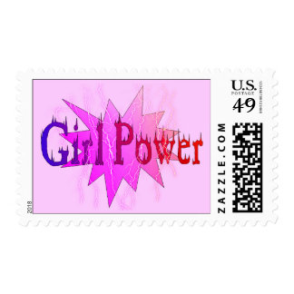 Poder del chica sellos