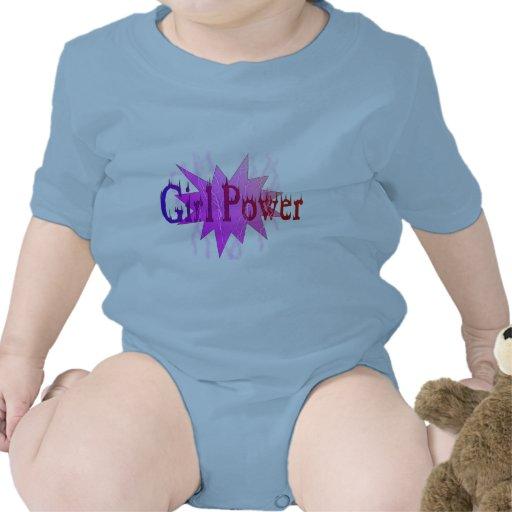 Poder del chica trajes de bebé