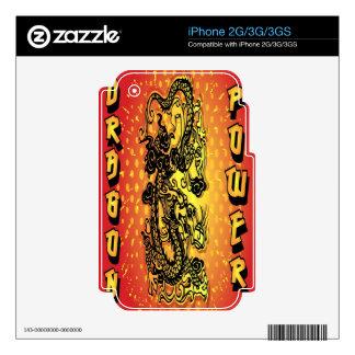 Poder del dragón skins para iPhone 3