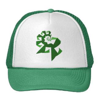 Poder del fractal - verde gorras de camionero