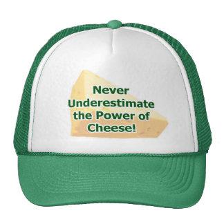 Poder del gorra del queso
