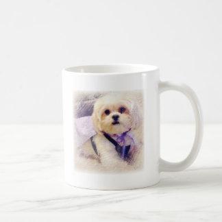 Poder del perrito de Bella Taza De Café