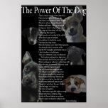 Poder del poster del perro (grande)