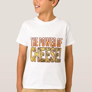 Poder del queso verde playera