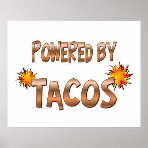 Poder del Taco Poster
