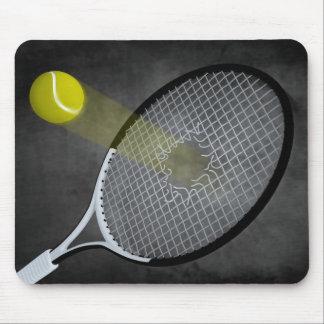 ¡Poder del tenis! Alfombrilla De Ratones