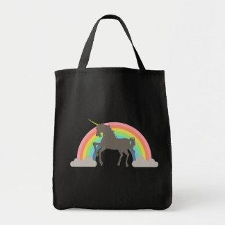 Poder del unicornio bolsa tela para la compra
