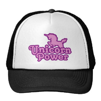 ¡Poder del unicornio! Gorros Bordados