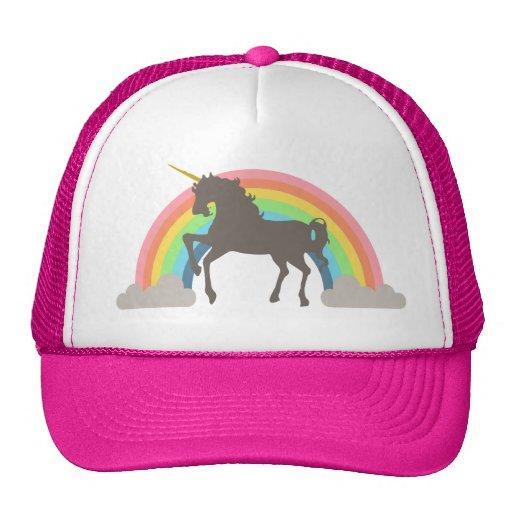 Poder del unicornio gorras de camionero