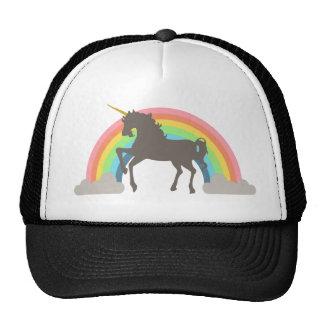 Poder del unicornio gorros bordados