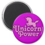 ¡Poder del unicornio! Iman De Frigorífico