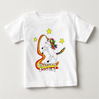 ¡Poder del unicornio! Playera Para Bebé