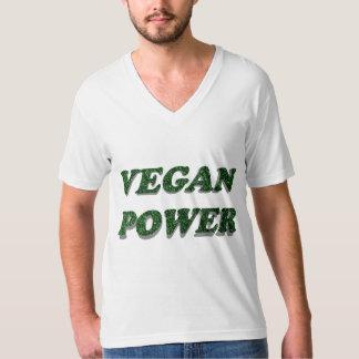 Poder del vegano playera