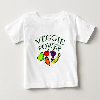 Poder del Veggie Playera