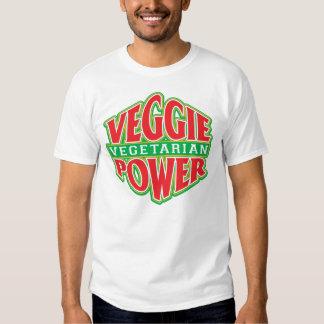 Poder del Veggie Playeras