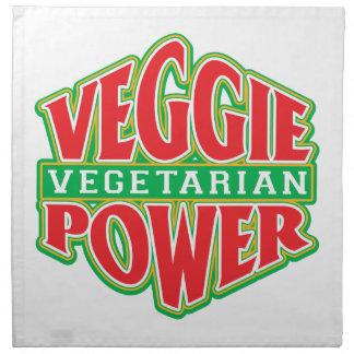 Poder del Veggie Servilleta