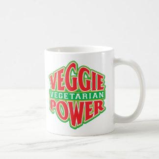 Poder del Veggie Taza Clásica