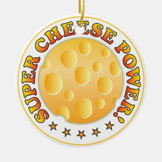 Poder estupendo del queso ornamentos de reyes
