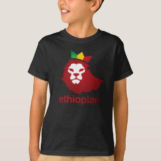 Poder etíope - Hanes básico Tagless de los niños Playera