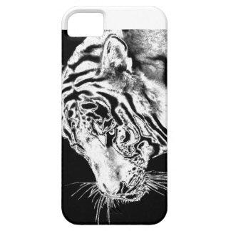 PODER FRESCO - TIGRE iPhone 5 FUNDA