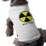 Poder mental camisa de perro