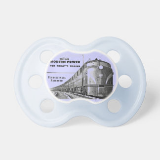 Poder moderno del tren del ferrocarril de chupetes para bebes