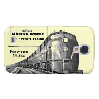 Poder moderno del tren del ferrocarril de samsung galaxy s4 cover