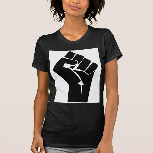 Poder negro camisas