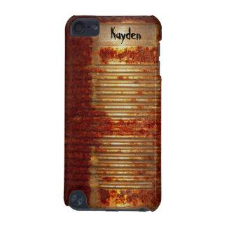 Poder oxidada personalizada del metal del Grunge Carcasa Para iPod Touch 5G